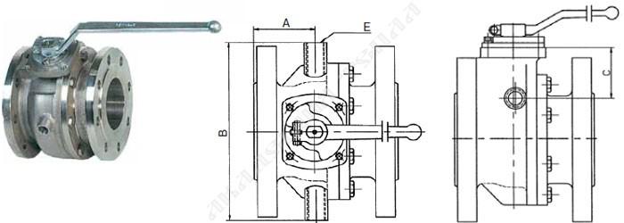 Клапан стальной электромагнитный ВН2Н-6Е ФЛ.